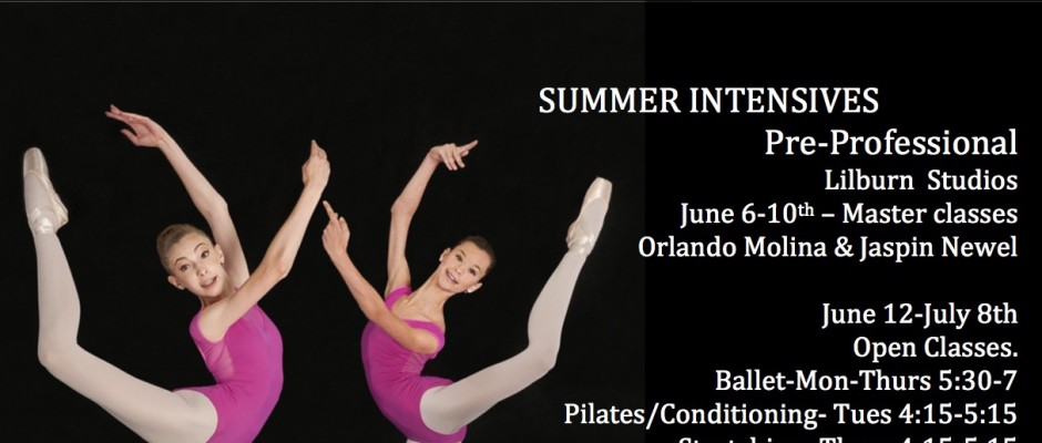 16 summer intensive ad copy